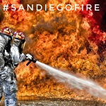 #sandiegofire - the first successful example of hashtag in news context